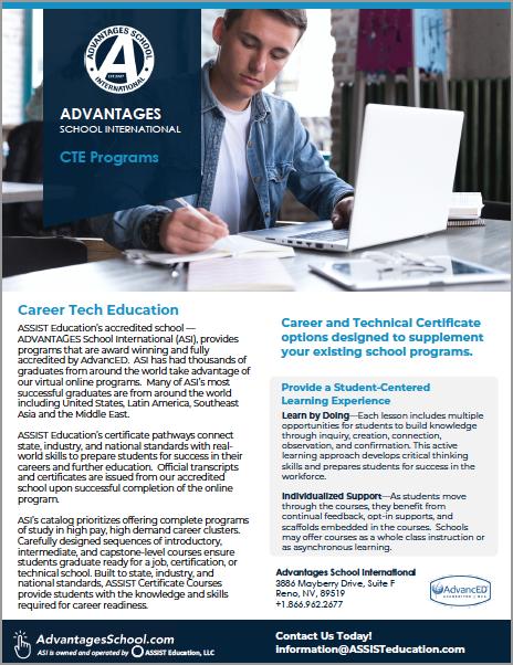 CTE Courses Online